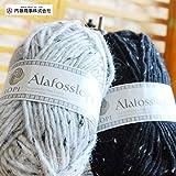 ロピー(ツィード) 人気のロービング極太毛糸ロピーのツイードタイプ◆ 内藤の手編み毛糸 1234
