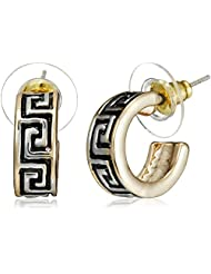 NewU Accessories Stud Earrings For Women (Golden) (30050813)