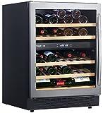 Cave--vin-de-service-2-temp-50-bouteilles-Noir-AVINTAGE-ACI-AVI580E-Encastrable