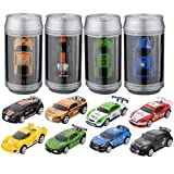 Mini Coke Can Speed RC Radio Remote Controlled Micro Racing Car Toys Kids Game