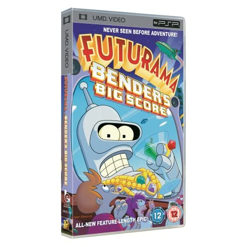 Futurama-Benders-Big-Score-UMD-Mini-for-PSP-DVD