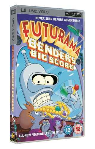 Futurama – Bender's Big Score [UMD Mini for PSP]