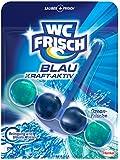 WC Frisch Kraft-Aktiv Blauspüler Ozean-Frische, 5er Pack (5 x 1 Stück)