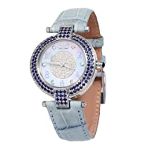 Effy 5th Ave. Diamond/Sapphire 3.28 Tcw. Mother-of-Pearl Dial Ladies Watch #Z00Z200DS0