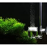 Yosoo U-shape DIY 4 in 1 Co2 Diffuser for DIY Co2 System Check Valve Bubble Counter Planted Aquarium