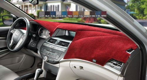 Dash Designs 09260VMN Velour Dash Cover Maroon