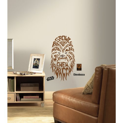 Awesome Typographic Star Wars Wall Decals