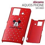レイ・アウト docomo AQUOS PHONE SH-06D用ディズニーシェル/ミニーRT-DSH06DA/MN