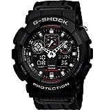 Casio G-Shock Military Cloth Black -GA100MC-1A