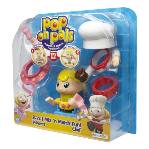 Pop On Pals - Figure Chef / Princess