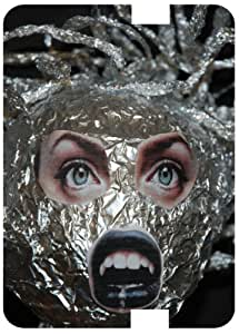 Medusa Sculpture White Back Cover Case for Amazon Kindle Fire 7 HD