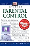 Essential Computers: Parental Control (0789455285) by Watson, John H.