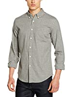 Dockers Camisa Hombre Weathered Oxford (Gris)