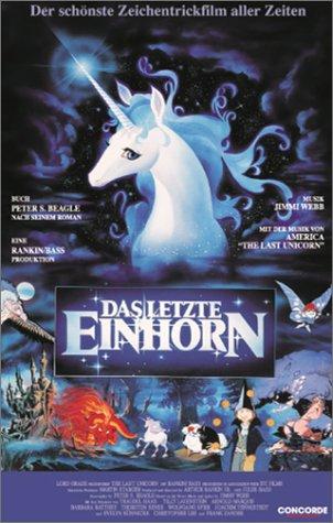 Das letzte Einhorn [VHS]