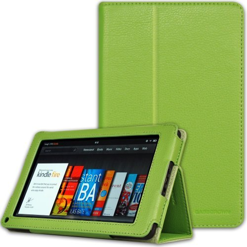 CaseCrown Bold Standby Case (Green) for Amazon Kindle Fire Tablet (Not Compatible with Kindle Fire HD 7)