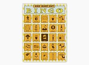 Kids' Night Out Bingo by Knock Knock