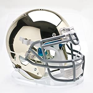 NCAA Notre Dame Fighting Irish Authentic XP Football Helmet, Chrome by Schutt