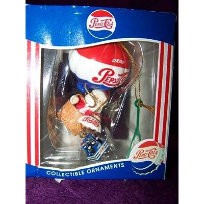 Ornament: Santa in Hot Air Balloon - Christmas Ball Ornaments