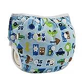 HAPPY CHERRY Babywindeln Waschbare Baby Schwimmwindel Windel...