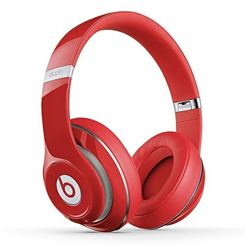 Beats Studio Wireless Over-Ear Headphone (Red)(Certified Refurbished)