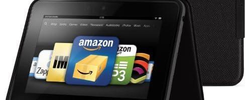 Amazon Kindle Fire HD スタンド型レザーカバー、オニックスブラック (Kindle Fire HD 専用)