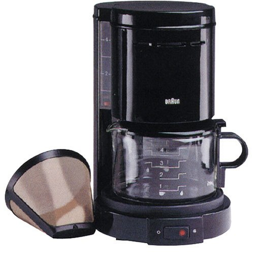 Coffee Maker Braun : Amazon.com: BRAUN KF12B - Aromaster 4-cup Coffee Maker: Drip Coffeemakers: Kitchen & Dining