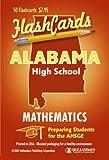 echange, troc Hollandays Publishing Staff - Alabama AHSGE Test Mathematics Flashcards (Cards)