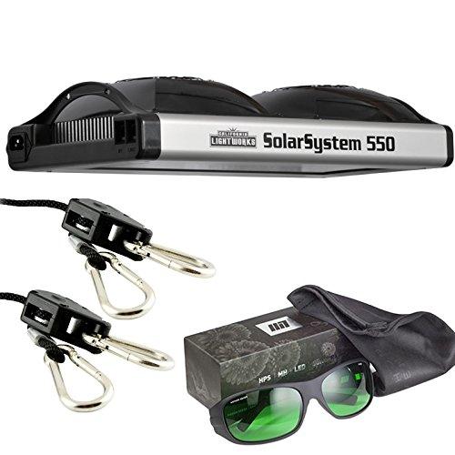California-Lightworks-Solar-System-550-Method-Seven-LED-Glasses-Ratchet-Ropes-Grow-Light-Fixture-400w-LED-Commercial-Lighting-System