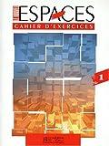 echange, troc Capelle, Gidon - Le nouvel espace, niveau 1, cahier d'exercices