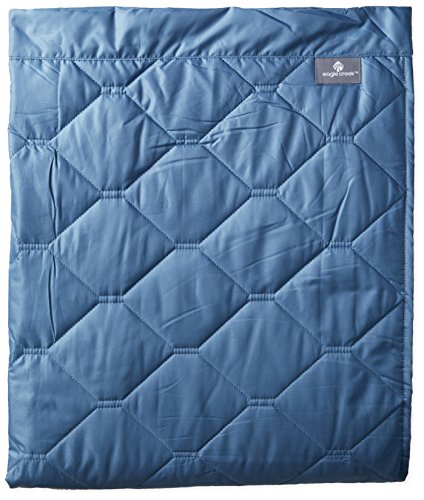 Eagle Creek Travel Gear Compact Throw, Blue Mist, One Size