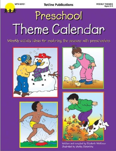 Preschool Theme Calendar, Carson-Dellosa Publishing