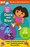On the Go with Dora and Blue! (Nick Jr. Ready-to-Read Boxed Sets)
