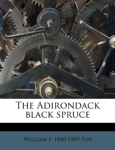 The Adirondack black spruce