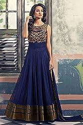 Divine Fab Women's Cotton Unstitched Dress Material (Divine Fab_13_Bottlegreen_Free Size)