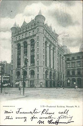prudential-building-newark-new-jersey-original-vintage-postcard