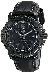 Luminox Men's 7251.BO Mariner Analog Display Analog Quartz Black Watch
