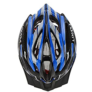 Lixada Bicycle Helmet Mtb/Road Bike Helmets Cycling Mountain Racing, Men Women Keep Safety, Adult Child Kids, with 21 Vents Adjustable Ultralight Integrally-molded, Color Blue from Lixada