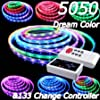 5M 5050 RGB Dream color 6803 IC LED Strip Light Waterproof & 133 Change RF Rmote