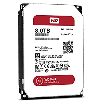 WD Red 3.5inch 8TB キャッシュ 128MB SATA6Gb/s 5400rpm WD80EFZX