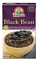 Dr. McDougall\'s Right Foods Black Bean Soup, 18.3-Ounce Boxes (Pack of 6)