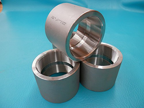 Stainless Steel Pipe Coupling 3 inch ID New 304 MB 3