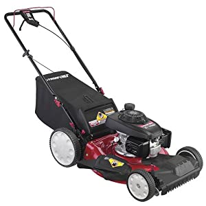 Troy-Bilt 12AVB29Q711 TB260 21-Inch 160cc Honda GCV160 Gas Powered 3-In-1 FWD Self Propelled Lawn Mower With High Rear Wheels (CARB Compliant)