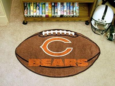 Chicago Bears Football Mat