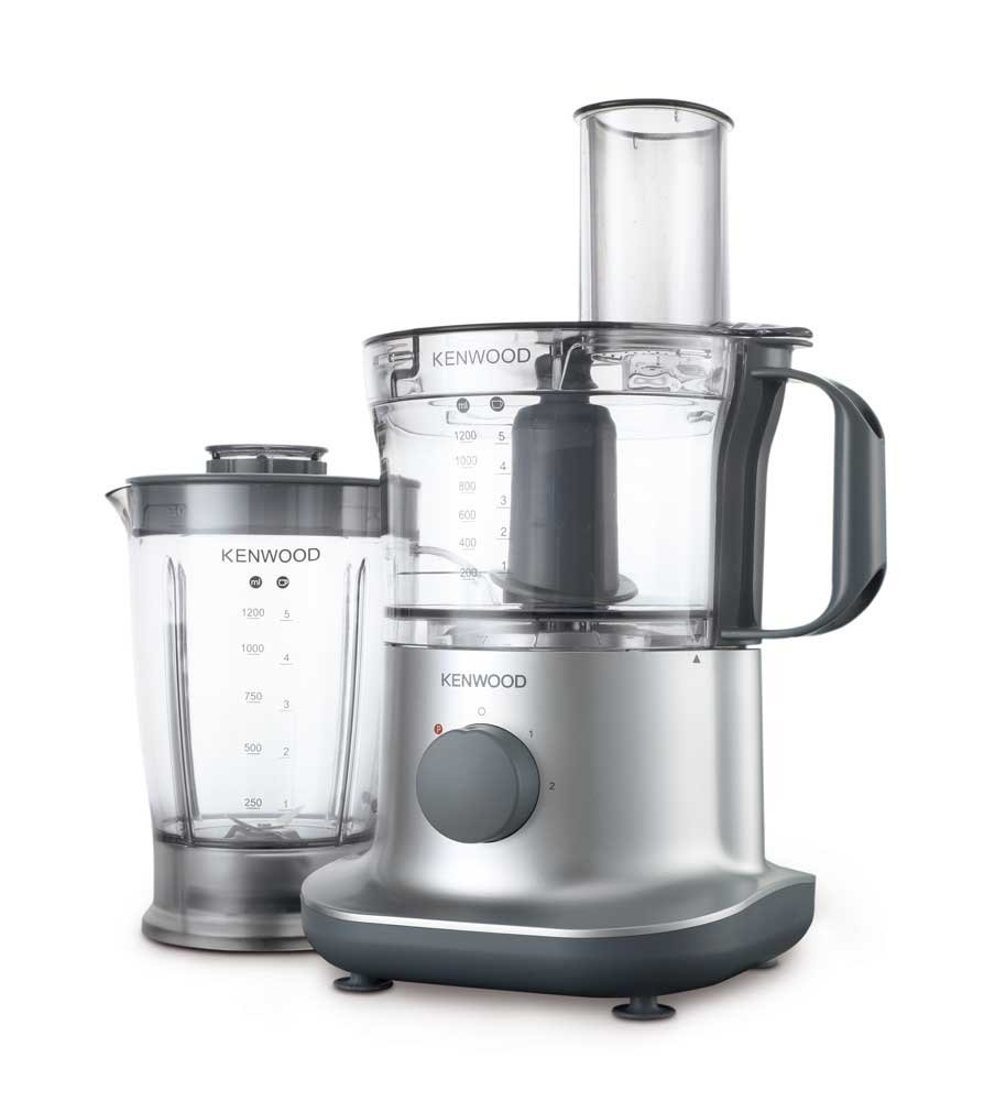 kenwood fpp225 food processor silver brand new ebay. Black Bedroom Furniture Sets. Home Design Ideas