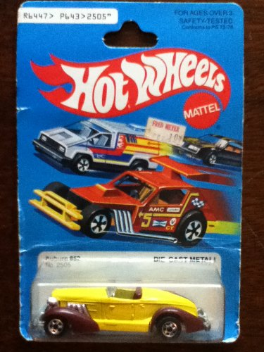 Hot Wheels No. 2505 Auburn 852 1979 Series - 1