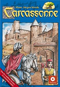 Asmodee - CARC01 -  Jeu de stratégie - Carcassonne Jeu de base