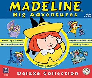 Madeline Big Adventures Deluxe Collection 4 Cd Set Amazon