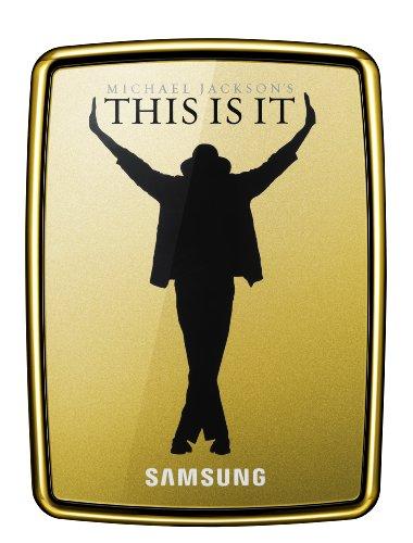 Samsung S2 500GB Portable USB 2.0 Hard Drive With Michael Jackson's