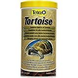 Tetra Tortoise, Hauptfutter Alleinfutter für alle Landschildkröten zur artgerechten Ernährung, Schildkröte Terrarium Aquaterrarium Panzer, 1 Dose (1 x 1 L)