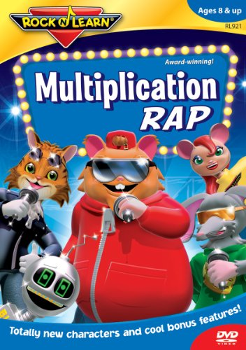 Rock N Learn: Multiplication Rap [DVD] [2004] [Region 1] [NTSC]